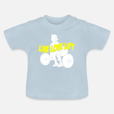 Gym funny gym shirt - Baby T-Shirt
