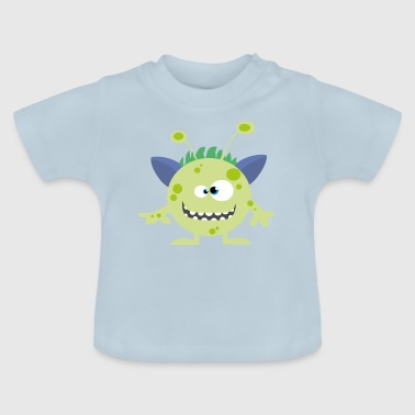 Ufo Baby Cuddly Monster UFO Alien - Baby T-Shirt
