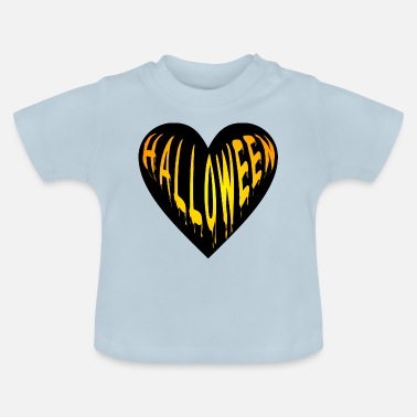 Bimote Herz Herzlich Halloween Party - Baby T-Shirt