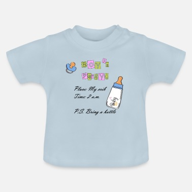 Baby baby boy party - Baby T-Shirt