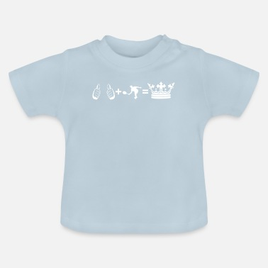 hobby plus i king tennis tennis player - Baby T-Shirt
