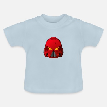 Hammer Blood Angels Space Marine Helmet - Baby T-Shirt