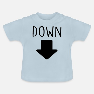 Down With Detroit down - Baby T-Shirt