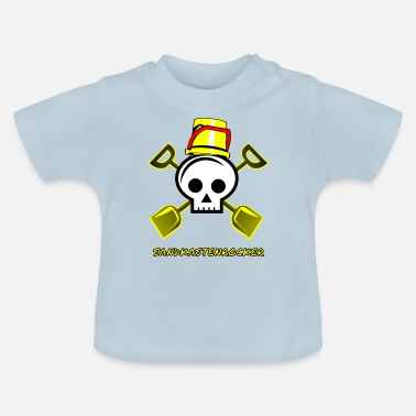 Sandbox Sandbox rocker sandbox child kindergarten - Baby T-Shirt