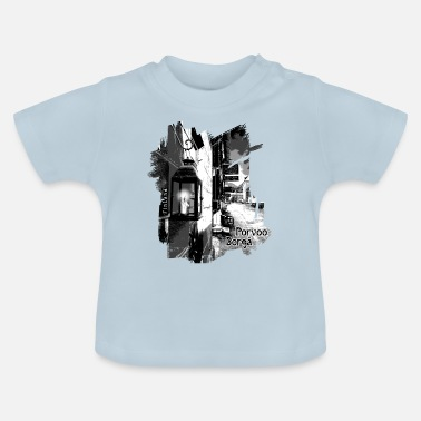 Old Porvoo Old Town - Textile and Gifts - Baby T-Shirt