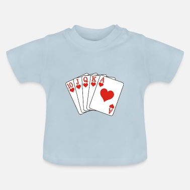 Royal Flush Poker Royal Flush - Maglietta neonato