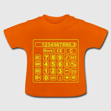 math calculator - Baby T-Shirt