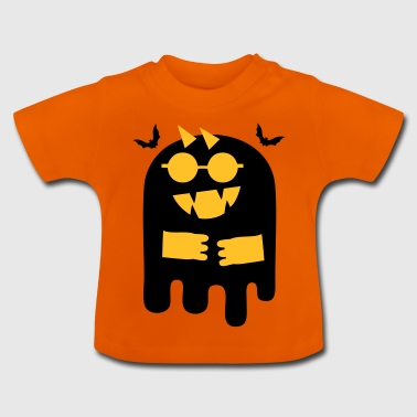 Cute bat ghost Halloween - Baby T-Shirt