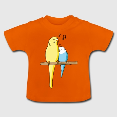 Budgie Family - Baby T-Shirt