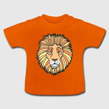 Lion by JYR Le Mestengo - T-shirt Bébé