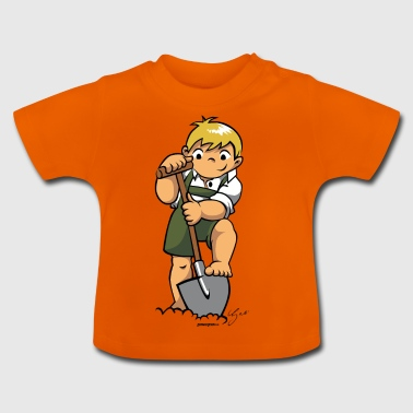 Boarisch Kind - Baby T-Shirt