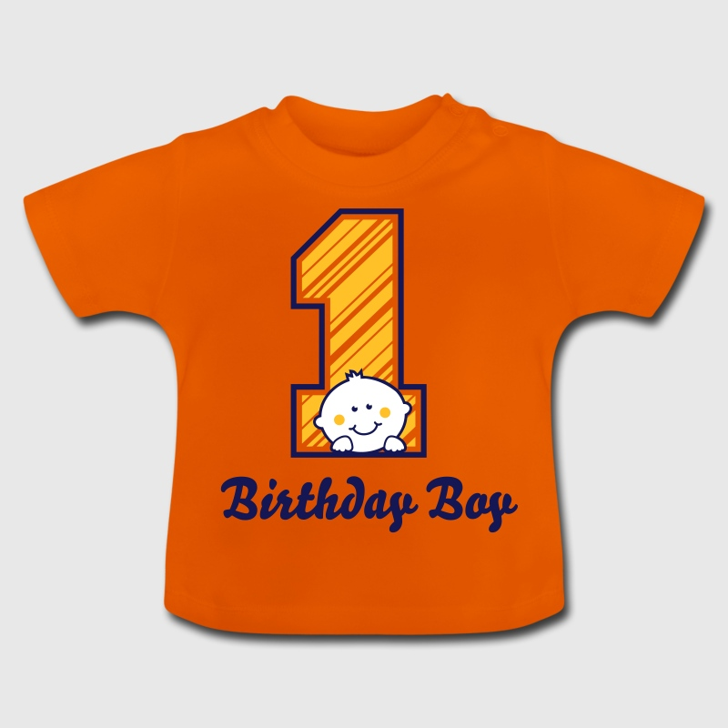 Ein Jahr - One Year - Birthday Boy - Baby T-Shirt