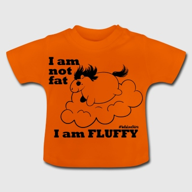 fluffy_baby - Baby-T-shirt