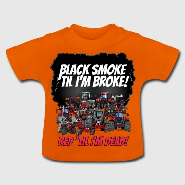2016_black_smoke_red_IH_tshirt - T-shirt Bébé