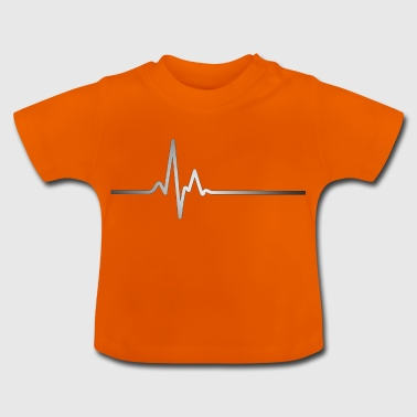 Silver Heartbeat - Baby T-Shirt