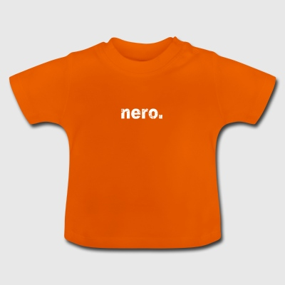 Gift grunge style first name nero - Baby T-Shirt