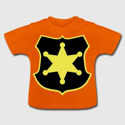 2541614 14763080 sheriff star - Baby T-Shirt