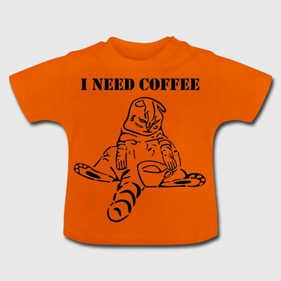 cat-i-need-coffee-2 - Baby T-Shirt