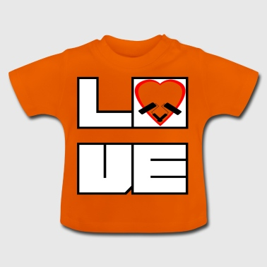 Love love PAINTER - Baby T-Shirt