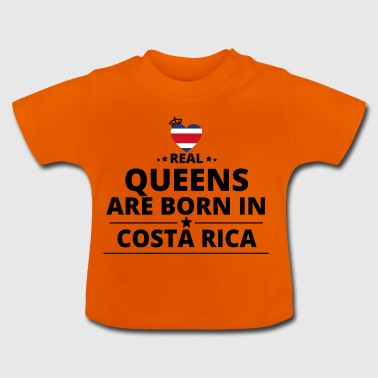 GIFT QUEENS LOVE FROM COSTA RICA - Baby T-Shirt