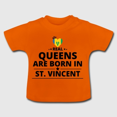 GAVE QUEENS LOVE FROM ST VINCENT - Baby T-shirt