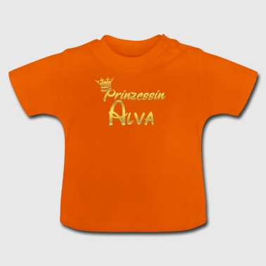 Princess Princess QUEEN GIFT Alva - Baby-T-shirt