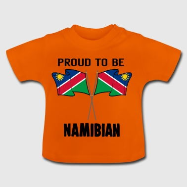 Proud to be land heimat Namibia - Baby T-Shirt