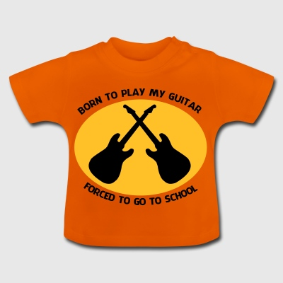 2541614 14715811 guitare - T-shirt Bébé