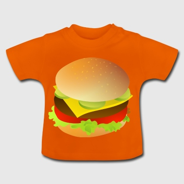 Cheeseburger Geschenk Hamburger Idee - Baby T-Shirt