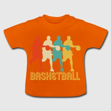 Retro Pop Art Style Basketball Gifts. Bestselling* - Baby T-Shirt