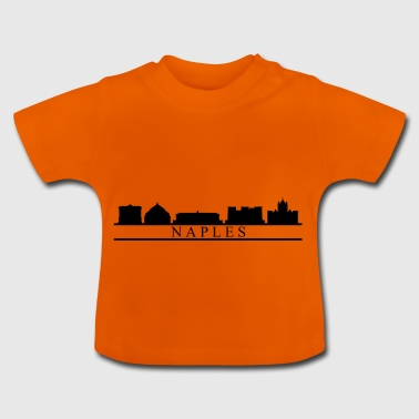 Neapel Skyline - Baby T-Shirt