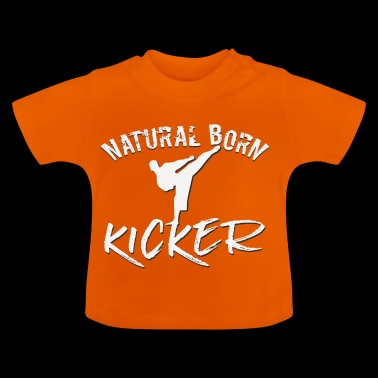 natural born kicker Vechtsporten Taekwondo Kick - Baby T-shirt
