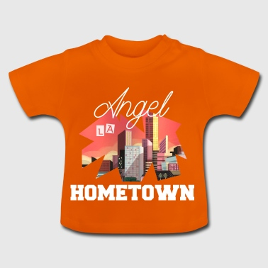 LA Los Angeles, hjemsted for den Angels gave idé - Baby T-shirt