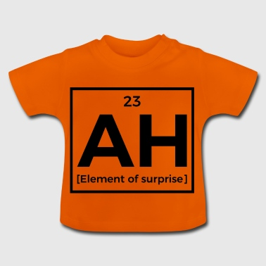 Element van Verrassing - Periodic Table - Baby T-shirt