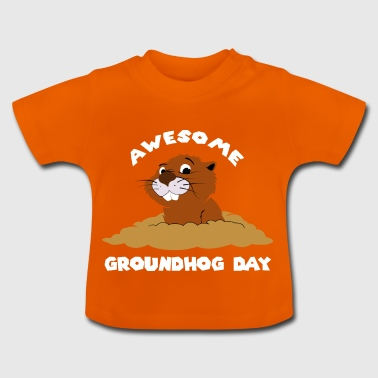 Awesome Groundhog Day Gift - Baby T-Shirt