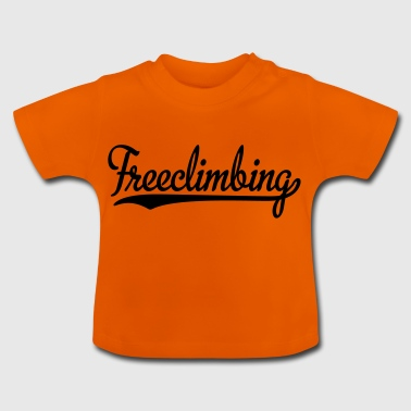 2541614 15439077 freeclimbing - Baby T-Shirt