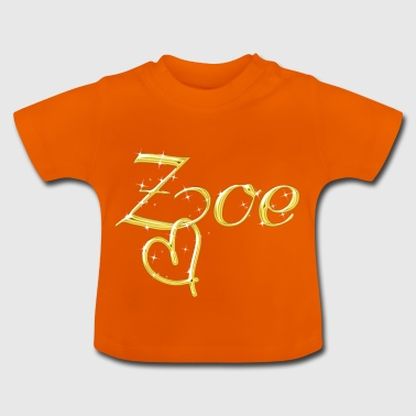 Zoe name women first name - Baby T-Shirt