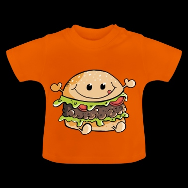 Yummy Kawaii Hamburger - Burger - Fast Food - Fun - Maglietta per neonato
