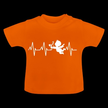 cupid, heartbeat - Baby T-Shirt