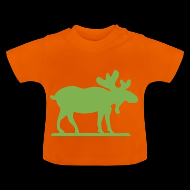 Moose Norway Sweden Finland Scandinavia - Baby T-Shirt