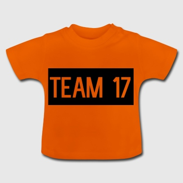 Team17 - Camiseta bebé