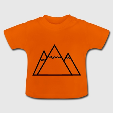 Triangle Mountains - Baby T-Shirt