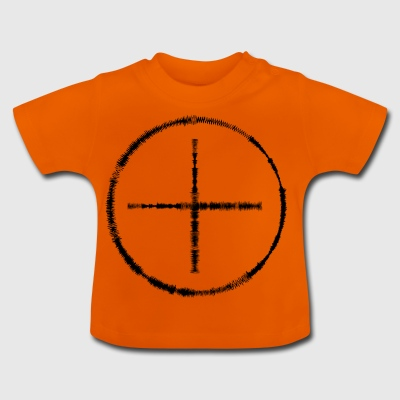 Circle and big plus out of level indicators - Baby T-Shirt