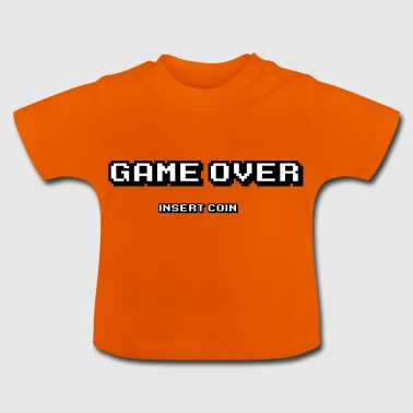 Game Over pièce d'insertion - T-shirt Bébé