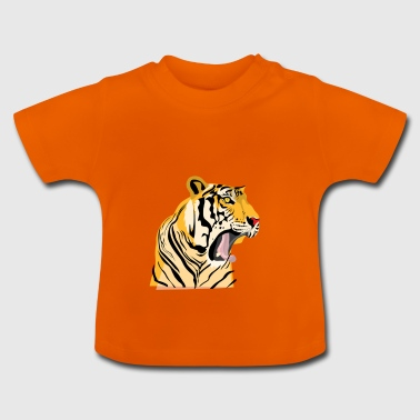 Roar Tiger - Baby T-Shirt