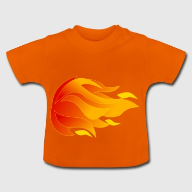 Flames - Baby T-Shirt