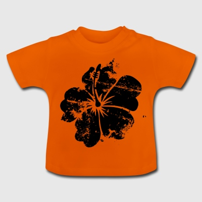 Flower - Hawaii - Vintage - Baby T-Shirt