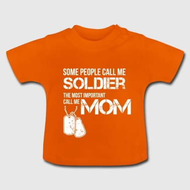 Soldier Mom - Baby T-Shirt