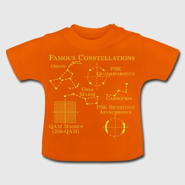 kända Constellations - Baby-T-shirt