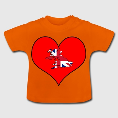 Love Land Europa EU England UK GB - Baby T-Shirt